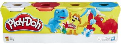Ігровий набір Play-Doh PD Dinosaurs 4 баночки (B5517_B6508)