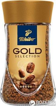 Кофе растворимый Tchibo Gold Selection 100 г (4046234767599)