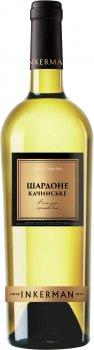 Вино Inkerman Шардоне Качинське сухе біле 0.75 л 10-12% (4820003751794)