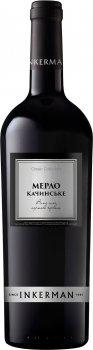 Вино Inkerman Мерло Качинськое червоне сухе 0.75 л 10-12% (4820003751831)