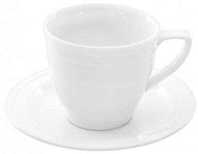 Чашка с блюдцем для завтраков BergHOFF Hotel 380 мл (1690209)