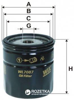 Фильтр масляный WIX Filters WL7087 - FN OP541