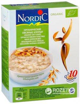 Пластівці вівсяні NordiC органічні 600 г (6411200107521)