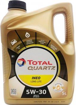 Моторне масло Total Quartz INEO L Life 5W-30 5 л (181712)