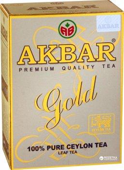 Чай черный листовой Akbar Gold  250 г (5014176001162)