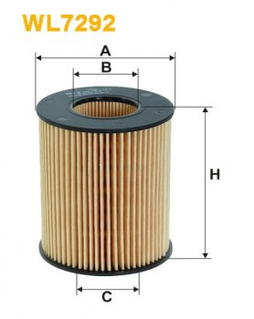 Фильтрующий элемент масляного фильтра WIX WL7292 - FN OE665