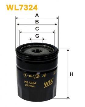 Фильтр масляный WIX WL7324 - FN OP537