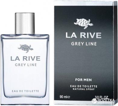 Туалетная вода для мужчин La Rive Grey Line 90 мл (5906735234077)