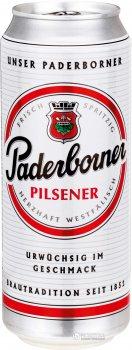 Упаковка пива Paderborner Pilsner светлое фильтрованное 4.8% 0.5 л х 24 банок (4101120015106)