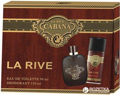 Набор для мужчин La Rive Cabana туалетная вода 90 мл + дезодорант 150 мл (5906735237054)