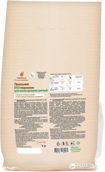 Стиральный Эко порошок Tortilla для цветных вещей 8 кг (4820178060172)