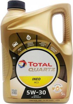 Моторне масло Total Quartz INEO MC3 5W-30 5 л (157103)