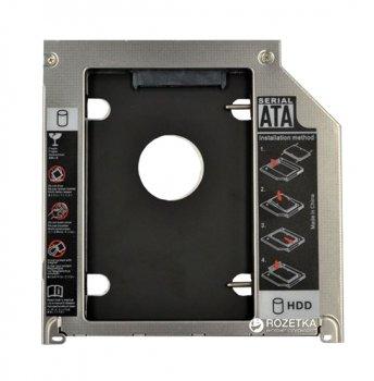 """Адаптер Maiwo для подключения 2.5"""" HDD/SSD SATA 3.0 в отсек привода Apple Macbook 9.5 мм (NSTOR-Macbook)"""