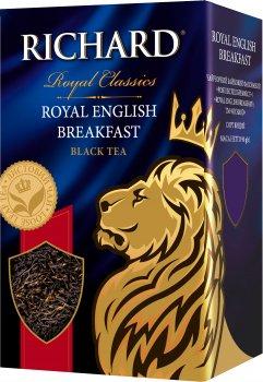 Чай Richard черный байховый листовой English Breakfast 90 г (4823063702553)