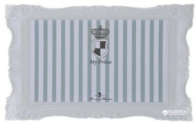 Килимок під миски для собак і кішок Trixie My Prince 44 x 28 см (4047974247860)