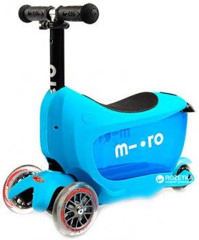 Самокат Micro Mini2go Deluxe Blue (MMD030)