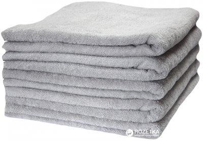 Махровое отельное полотенце Lotus Basic 70x140 Серое (svk-3314)