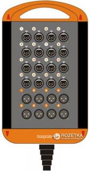 Мультикор Bespeco XTRA1608L50 50 м Black/Orange (23-15-2-31)
