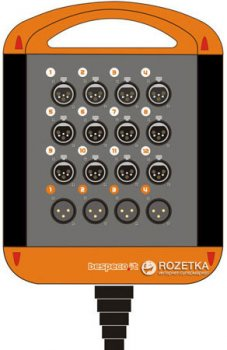 Мультикор Bespeco XTRA1204L20 20 м Black/Orange (23-15-2-13)