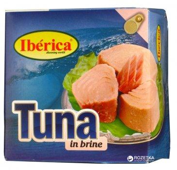 Тунец в собственном соку Iberica 160 г (8436024290424)