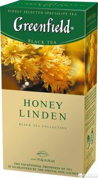 Чай пакетированный Greenfield Honey Linden 25 x 1.5 г (4823096802367)