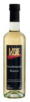 Уксус Conte DeCesare бальзамический белый 500 мл (9004698301105)