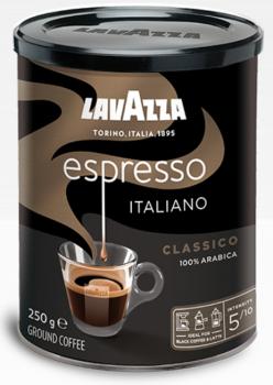 Кава мелена Lavazza Espresso 250 г (8000070018877)