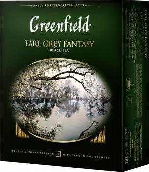 Чай пакетированный Greenfield Earl Grey Fantasy 100 х 2 г (4823096801773)
