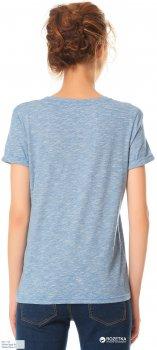 Женская футболка Bono Flamli 000-112 Голубая