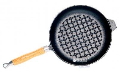 Сковорода Fissman чугунная с двумя ручками