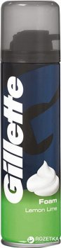 Пена для бритья Gillette Lemon Lime 200 мл (3014260228859)