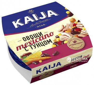 Тунец с овощами Kaija Mexicano 185 г (4751007733144)
