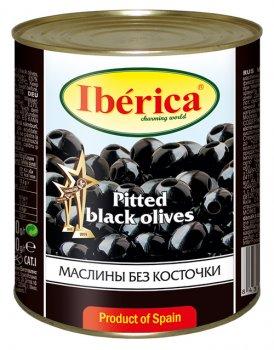 Маслини чорні без кісточки Iberica 3 кг (8436024291407)
