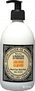 Жидкое мыло OSMA La manufacture en provence Миндаль 500 мл (3700807300125)