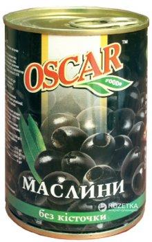 Маслины черные без косточки Oscar 300 г (8436024293388)