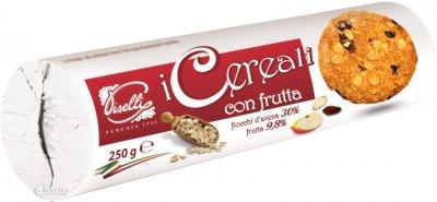 Печиво Piselli вівсяне з фруктами 250 г (8032755321026)