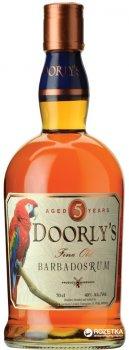 Ром Doorly's 5 років витримки Gold 0.7 л 40% (724803003005)