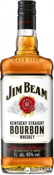 Виски Jim Beam White 4 года выдержки 1 л 40% (5010196092142)