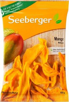 Манго сушений Seeberger скибочки 100 г (4008258276006)