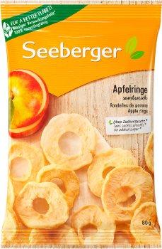 Яблука Екстра сушені Seeberger кільця 80 г (4008258403020)
