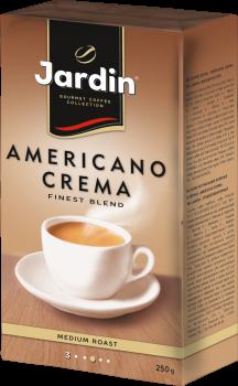 Кофе молотый Jardin Americano Crema 250 г (4823096803517)