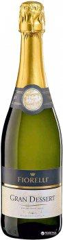Игристое вино Fiorelli Gran Dessert VS белое сладкое 0.75 л 7% (8002915004458)