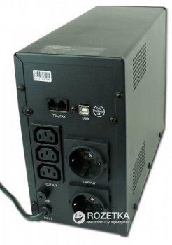 Джерело безперебійного живлення EnerGenie Pro 1200 VA LCD (EG-UPS-033)