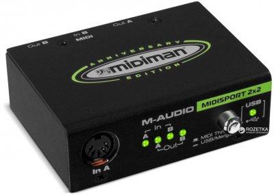 Аудіоінтерфейс M-Audio MIDISPORT 2x2 Anniversary Edition (MU-0025)