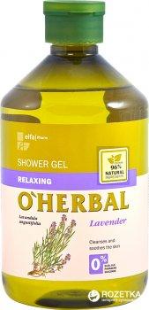 Гель для душа O'Herbal Расслабляющий с экстрактом лаванды 500 мл (5901845500012)