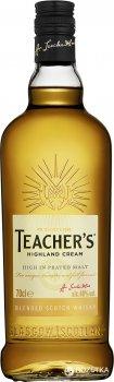 Виски Teacher's Highland Cream 4 года выдержки 0.7 л 40% (5010093259006)