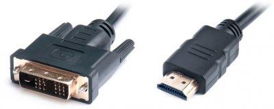 Кабель Real-El HDMI-DVI M-M 1.8 м Black