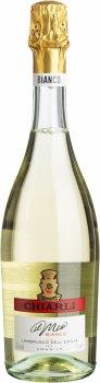 Вино ігристе Chiarli Lambrusco Bianco біле солодке 0.75 л 7.5% (8003325003406)