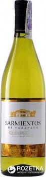 Вино Sarmientos Chardonnay белое сухое 0.75 л 13% (7804340802088)
