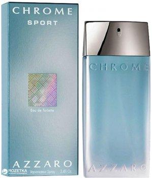 Туалетная вода для мужчин Azzaro Chrome Sport for Man 30 мл (3351500958092)